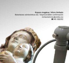 Jornada sobre la Restauración de la Virgen Blanca (Vitoria-Gasteiz)