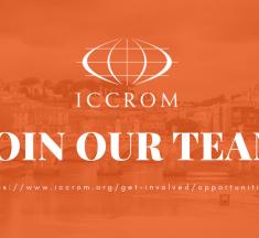 Oportunidades de empleo en el ICCROM