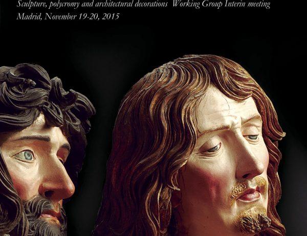 actas del congreso del Grupo de Escultura, Policromía y Decoraciones Arquitectónicas del ICOM-CC