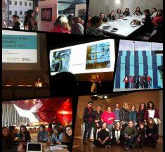 Debate del grupo de arte urbano en las 20ª Jornada del GEIIC