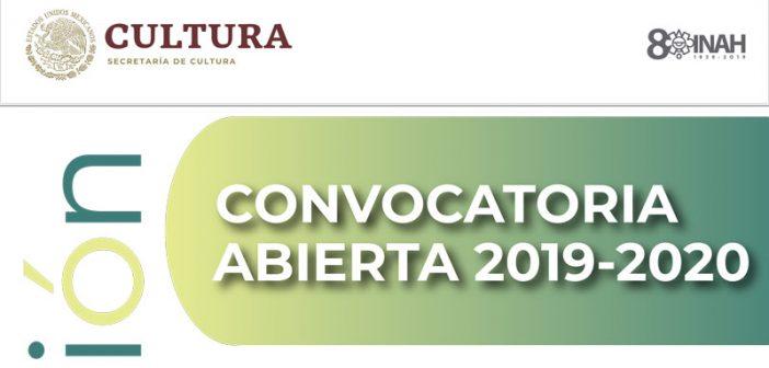 Convocatoria Intervención 2019-2020