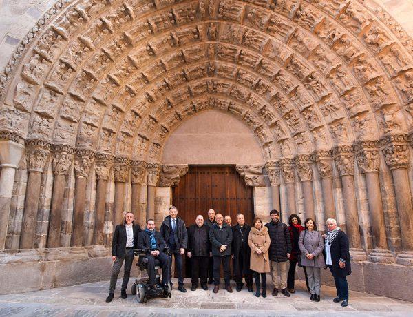 Presentación de la Restauración de la Puerta del Juicio de la Catedral de Tudela