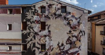 Mural Borondo Vitoria