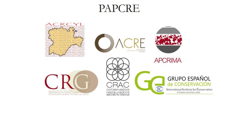 PAPCRE logos
