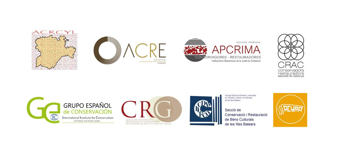 Logos PAPACRE, CDLIB y ACYRA
