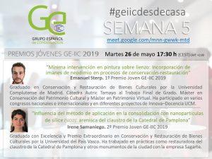 GE-IIC desde casa 26 de mayo